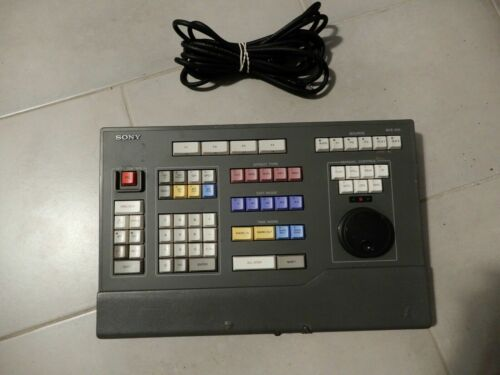 SONY BVE-910 BENCHTOP A/S EDIT CONTROLLER KEYBOARD UNIT