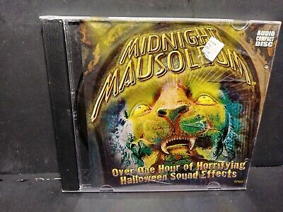 Midnight Mausoleum Halloween Sound Effects CD B225