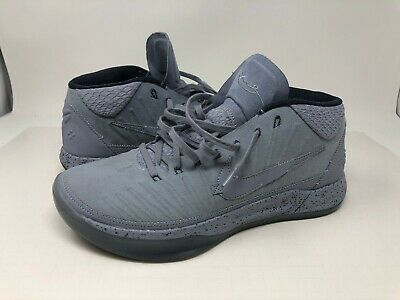 Nike Mens Kobe Detached 922482-002 Gray Basketball Sneakers Size 9.5