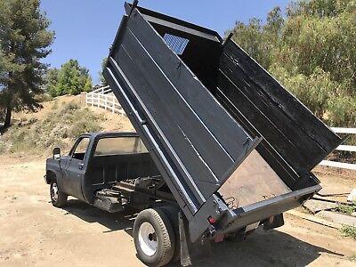 1988 Chevy R30 Dump Truck 2wd Dually