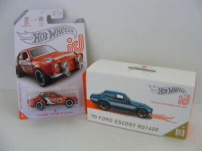 HOT WHEELS ID SCREEN TIME '70 FORD ESCORT RS1600 AND ESCORT RS1600 BAJA RACERS
