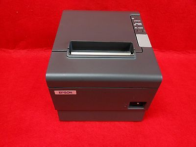 Epson Tm-t88iv Pos Thermal Printer Serial Interface Power Supply Included