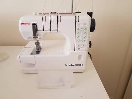 Janome CoverPro 1000CPX Coverstitch machine