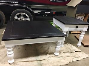 Refurbished / Refinished Coffee & End Table Set