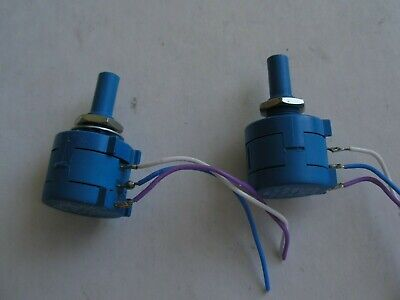 Two 10k Ohm Rotary Potentiometer Variable Resistors