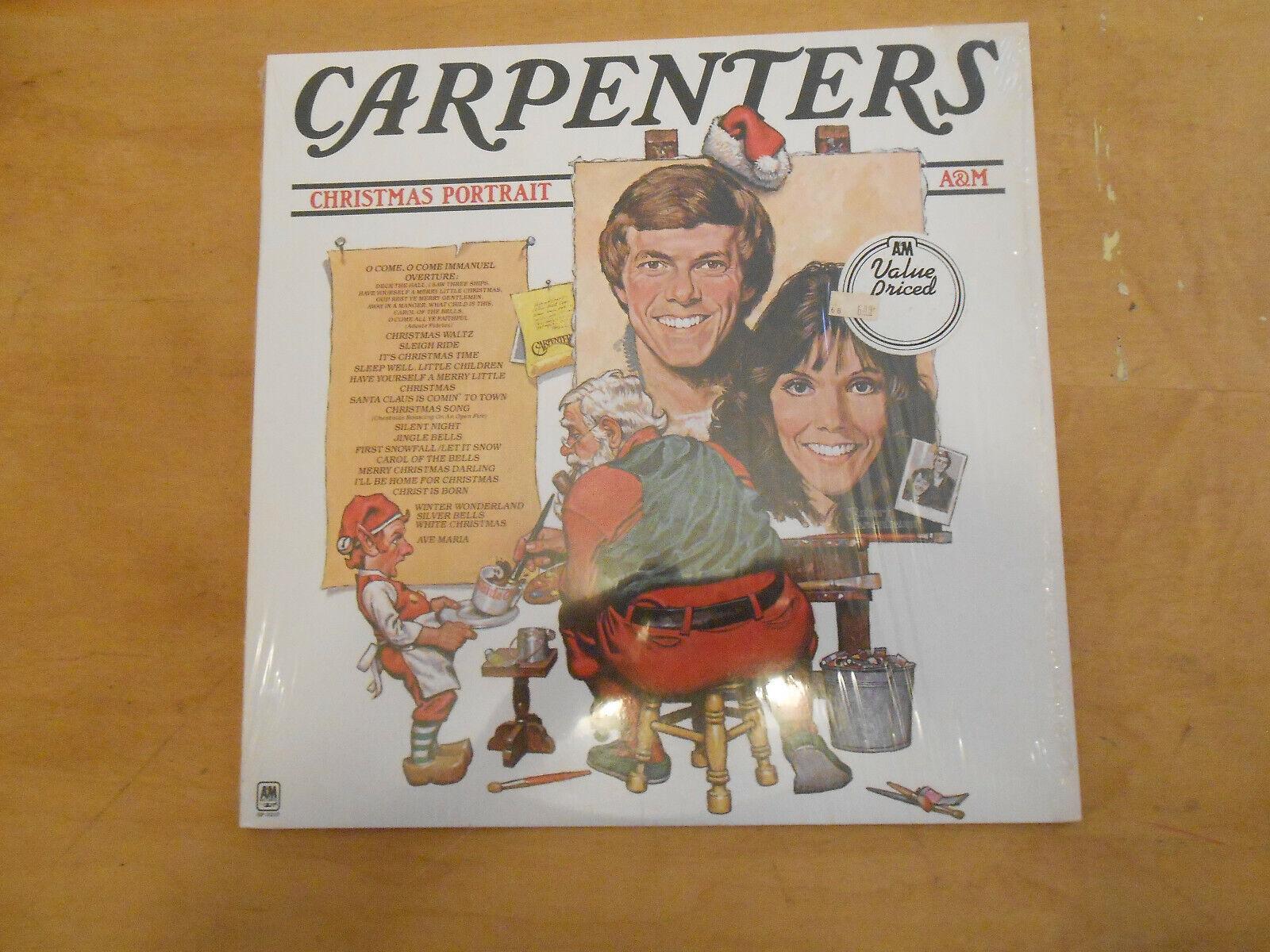 THE CARPENTERS CHRISTMAS PORTRAIT, A M SP-3210, VINYL LP 1978, NO LYRICS INSERT - $19.99
