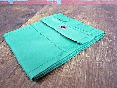Green Business Card Holder Organizer Hang On Wall Or Carry With You Vintage
