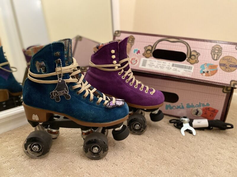 Moxi Lolly Roller Skates Size 4M Fits 5, 5.5, 6 In Women's Sizes