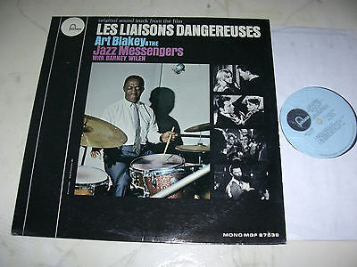 ART BLAKEY LES LIAISONS DANGEREUSES Original US Soundtrack 50s MONO LP
