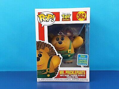 Mr Pricklepants Funko Pop Vinyl Figure SDCC 2019 Exclusive Toy Story #562