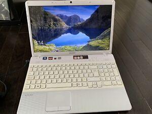Sony Visio Laptop 4GB Ram 500GB HDD Web Cam DVD