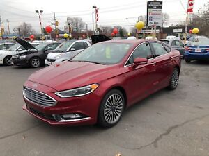 2017 Ford Fusion SE AWD - SUNROOF, NAVIGATION, REAR VIEW CAMERA!