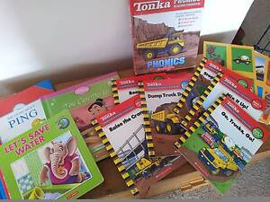 "Children's Books - ""Construction"" $8, Stories $4 each Midway Point Sorell Area Preview"