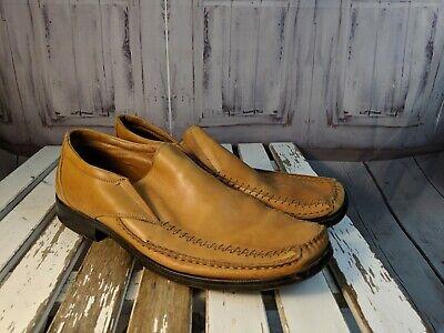 Alfani Mens shoes dress loafers flats boats comfort slip Italy Chief 10.5 3741