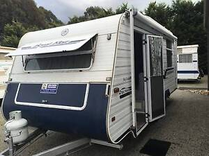 1999 Royal Flair Tandem Van - Isl Dbl - Air Cond - Rollout w/Wall Warragul Baw Baw Area Preview