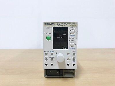 Kikusui Pas80-4.5 Regulated Dc Power Supply