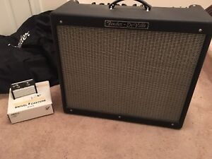 Fender hot rod deville 212 tube amp