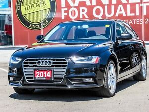 2014 Audi A4 2.0 Technik NAVIGATION, LEATHER, PANORAMIC ROOF,...