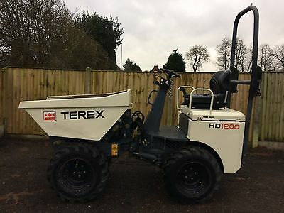 Terex HD850-HD1000-HD1200 Mini Dumper Parts Manual