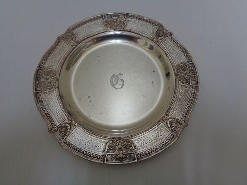 Silver Copper Hallmarked Dish