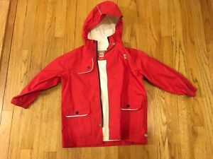 MEC Children's Rain Jacket Size 4 Red