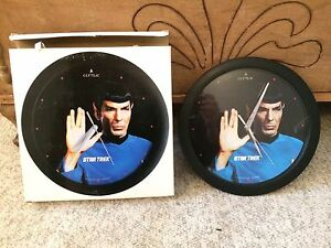 Wall Clock - Spock Star Trek TOS