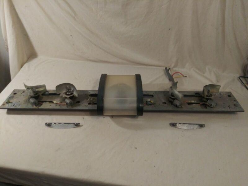 federal signal jetstream jet stream vintage classic lightbar light bar