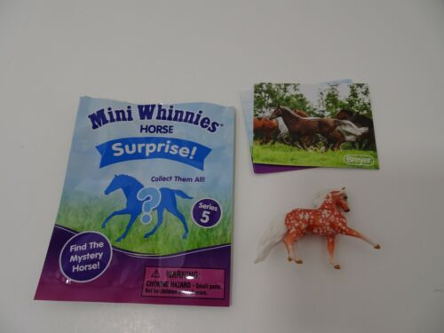 BREYER Mini Whinnies Horse Surprise CHASE Copper Filigree REED Series 5