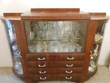 Vintage Art Deco China Cabinet. Warradale Marion Area Preview