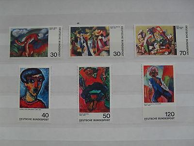 """BRD - Serie """"Deutscher Expressionismus"""", postfrisch"""