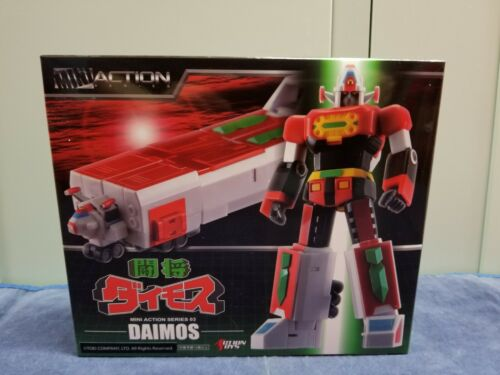 "Action Toys Mini Action Series 03 Daimos 15cm 6"" Figure"