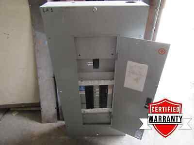 Panel Board Main Breaker Box 18 Cir 120208 Volt 3 P 4 W 175 Amps 1 Year Warrant