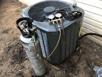 central air conditioning installs ($3500.00)
