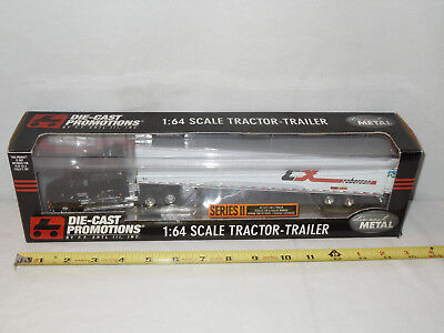 CX Roberson Freightliner Semi With Van Trailer  By DCP  1/64th Scale  !