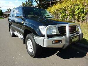 1999 TOYOTA 105 SERIES 4.5L PETROL AUTOMATIC LIKE NEW UPGRADE Greystanes Parramatta Area Preview