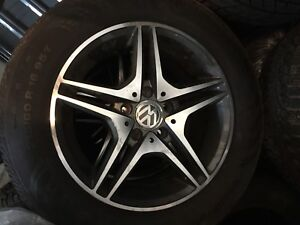 NEW WHEELS AND TIRES FROM VOLKSWAGEN