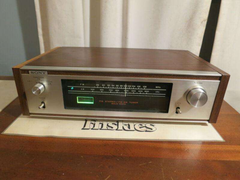 Vintage Sony ST-5600 AM/FM Stereo Tuner - Testing Working, Good w/ Original Box