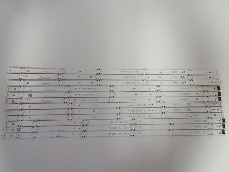 LG 65UJ6300-UA LED Backlight Strip Set (12) EAV63673007