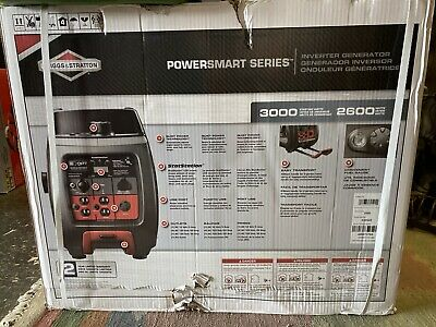 Briggs Stratton P3000 Powersmart Series 3000 Watt Inverter Generator 2600 Watt