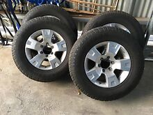 5 Nissan Patrol Genuine Rims/Tires Mount Helena Mundaring Area Preview