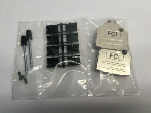 FCI 8655MH1501BLF Backshell DB15 Metal SHLD