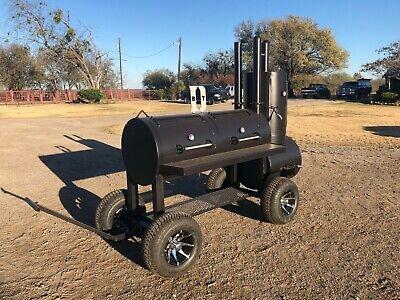 New Custom Patio Bbq Pit Smoker Charcoal Grill
