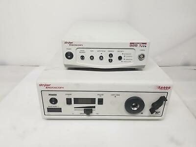 Stryker Endoscopy X6000 Light Source 988 Camera System