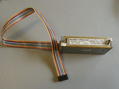Aeroflexweinschel 151-70-1 Dc-4ghz 70db Electronic Control Attenuator