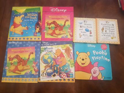 7 Winnie The Pooh Books