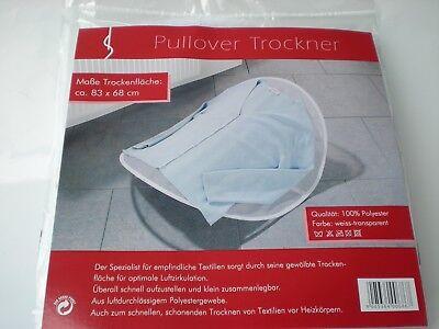Pullover Trockner 83 x 68 cm Textilien WäschetrocknerTrockner Camping NEU & OVP