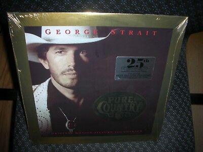 George Strait   Pure Country 25Th Anniversary   Brand New Record Lp Vinyl