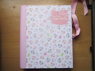 New My First Hello Kitty Baby Record Journal Keepsake Book Girls Pink Gift