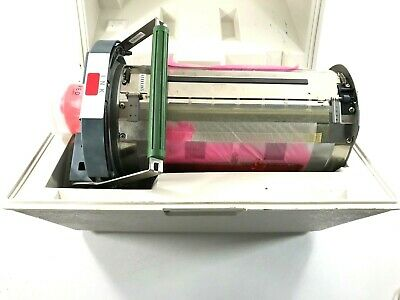 Risograph Untested Ink Drum Riso Red Color Old Ink W Case Parts Repair Only