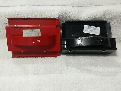 Lot Of 2 Amcraft Kerfing Tool For Duct Board Red And Black Hvac
